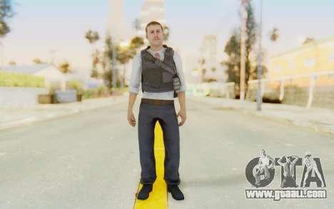 CoD MW2 Secret Service for GTA San Andreas second screenshot