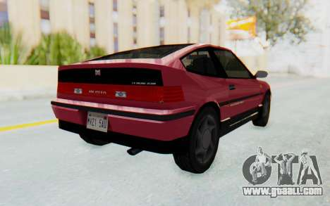 Dinka Blista Compact 1990 for GTA San Andreas right view