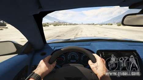 GTA 5 2001 Aston Martin V12 Vanquish rear right side view