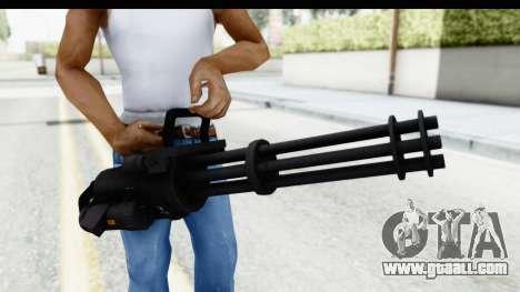 GTA 5 Coil Minigun v2 for GTA San Andreas