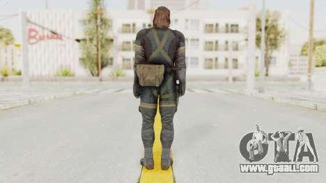 MGSV Phantom Pain Big Boss SV Sneaking Suit v2 for GTA San Andreas third screenshot