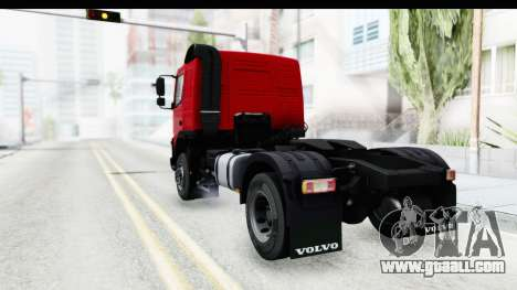 Volvo FMX Euro 5 v2.0 for GTA San Andreas back left view