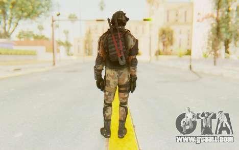 Federation Elite SMG Woodland-Flora for GTA San Andreas third screenshot