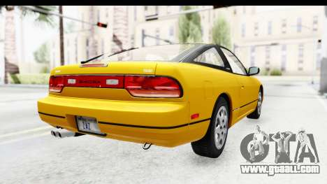 Nissan 240SX 1994 v1 for GTA San Andreas back left view