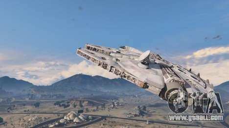 GTA 5 Star Wars Millenium Falcon 5.0 second screenshot
