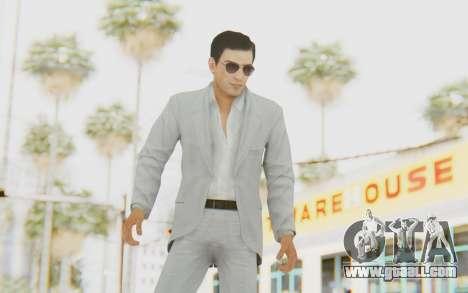 Mafia 2 - Vito Scaletta Madman Suit White for GTA San Andreas