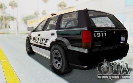 Canis Seminole Police Car for GTA San Andreas left view