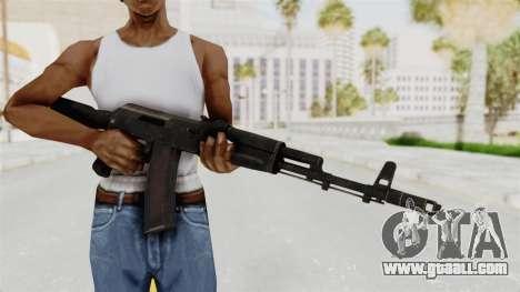AK-74M v1 for GTA San Andreas third screenshot