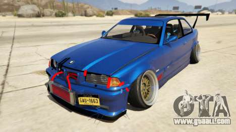 BMW M3 E36 DRIFTMISSILE for GTA 5