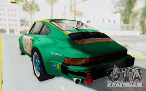 Porsche 911 Turbo 3.2 Coupe (930) 1985 for GTA San Andreas side view