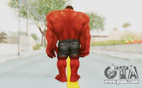 Marvel Future Fight - Red Hulk for GTA San Andreas third screenshot