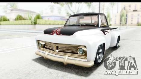 GTA 5 Vapid Slamvan Custom IVF for GTA San Andreas upper view