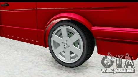 Volkswagen Golf Citi 1.8 1998 for GTA San Andreas back view