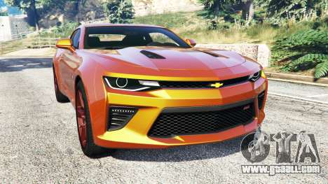 Chevrolet Camaro SS 2016 v2.0 for GTA 5
