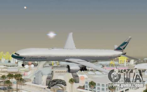 Boeing 777-300ER Cathay Pacific Airways v1 for GTA San Andreas