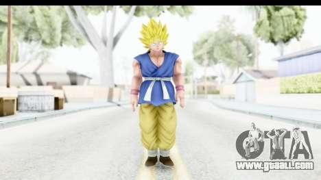 Dragon Ball Xenoverse Goku GT Adult SSJ1 for GTA San Andreas second screenshot