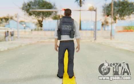 CoD MW2 Secret Service for GTA San Andreas third screenshot