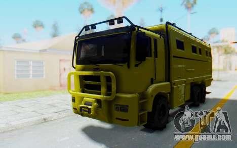 GTA 5 HVY Brickade for GTA San Andreas
