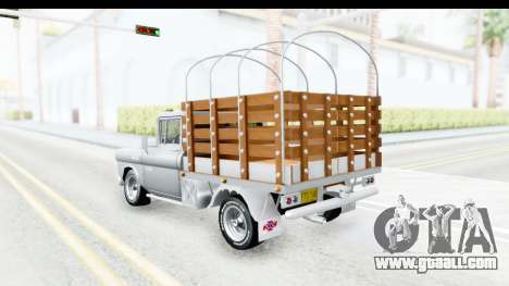 Chevrolet 3100 Diesel v1 for GTA San Andreas back left view