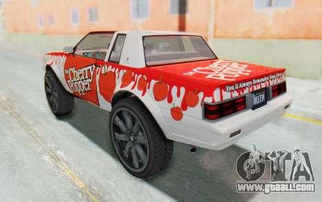 GTA 5 Willard Faction Custom Donk v2 IVF for GTA San Andreas wheels