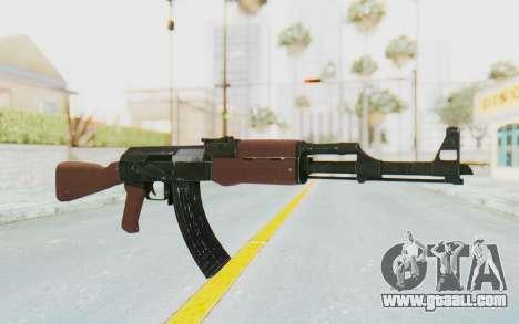 Assault AK-47 for GTA San Andreas