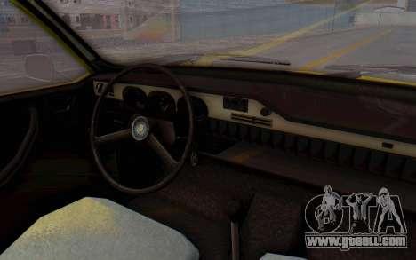 Dacia 1300 Stock for GTA San Andreas back view
