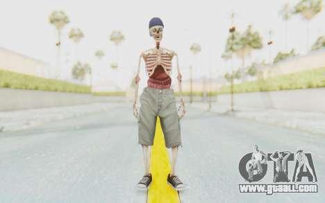 Skeleton Sk8ter for GTA San Andreas second screenshot