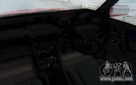 Mitsubishi Galant VR4 1992 for GTA San Andreas inner view