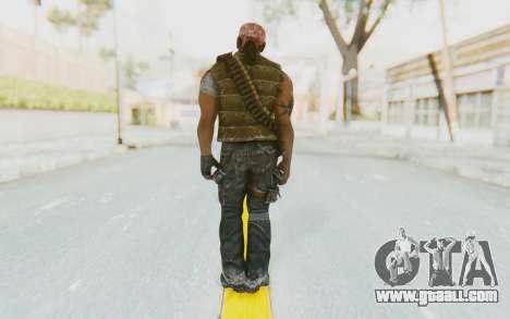 CoD BO DLC Danny Trejo for GTA San Andreas third screenshot