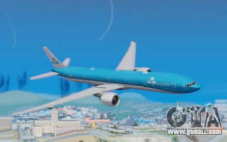 Boeing 777-300ER KLM - Royal Dutch Airlines v5 for GTA San Andreas