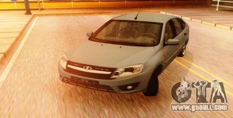 Lada Granta Liftback Beta v1 for GTA San Andreas