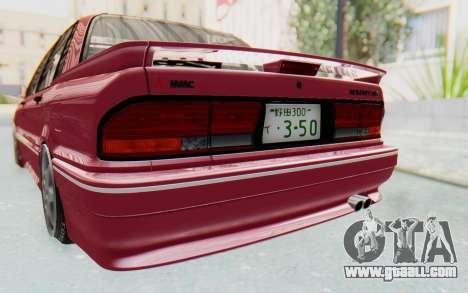 Mitsubishi Galant VR4 1992 for GTA San Andreas side view
