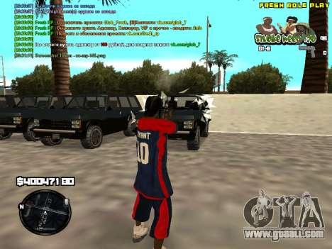 C-HUD Smoke Weed 420 for GTA San Andreas second screenshot