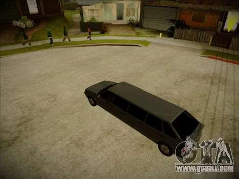 VAZ 2114 Devastadora HQ model for GTA San Andreas right view
