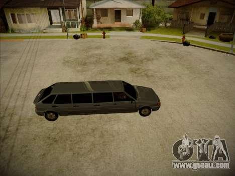 VAZ 2114 Devastadora HQ model for GTA San Andreas left view