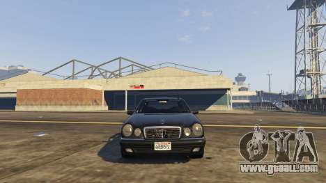 GTA 5 Mercedes-Benz W210 v1.0 rear right side view