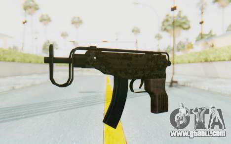 VZ-61 Skorpion Fold Stock Russian Gorka Camo for GTA San Andreas
