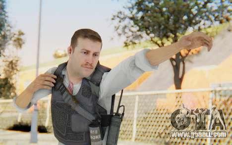 CoD MW2 Secret Service for GTA San Andreas