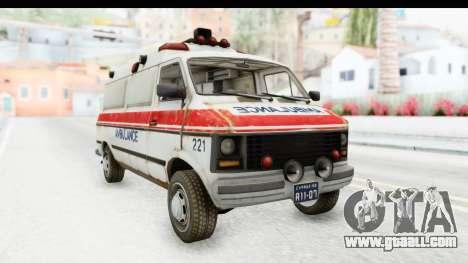 MGSV Phantom Pain Ambulance for GTA San Andreas