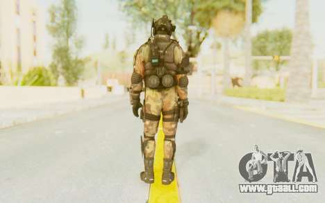 Federation Elite Assault Woodland-Flora for GTA San Andreas third screenshot