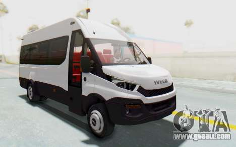 Iveco Daily Minibus 2015 for GTA San Andreas right view