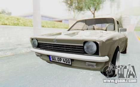 Opel Kadett C Coupe for GTA San Andreas