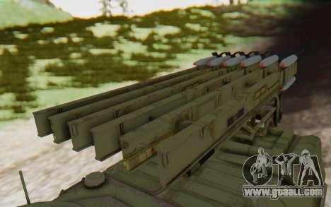 MGSV Phantom Pain ZHUK APC Tank for GTA San Andreas right view