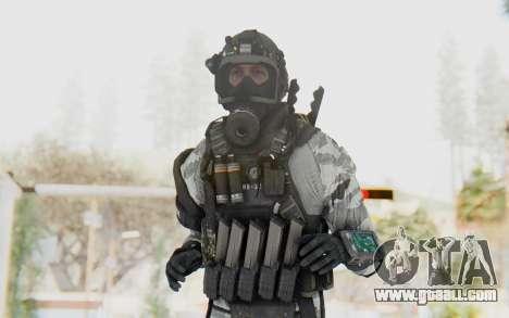 Federation Elite SMG Arctic for GTA San Andreas