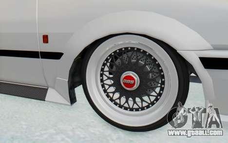 GTA 5 Futo Drift for GTA San Andreas back view