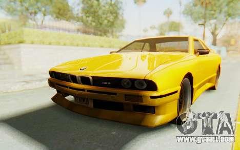Elegy E30 for GTA San Andreas
