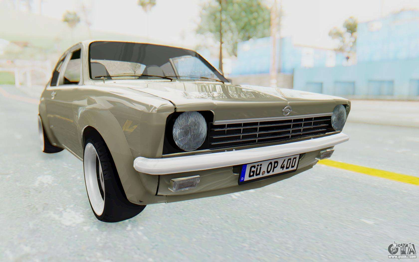 opel kadett c coupe for gta san andreas. Black Bedroom Furniture Sets. Home Design Ideas
