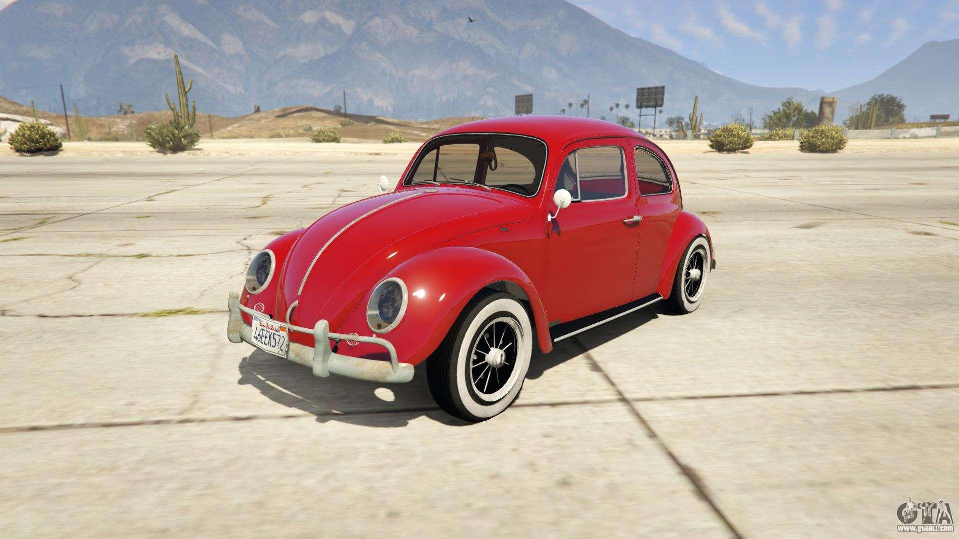 1963 volkswagen beetle 1 0 1 for gta 5. Black Bedroom Furniture Sets. Home Design Ideas
