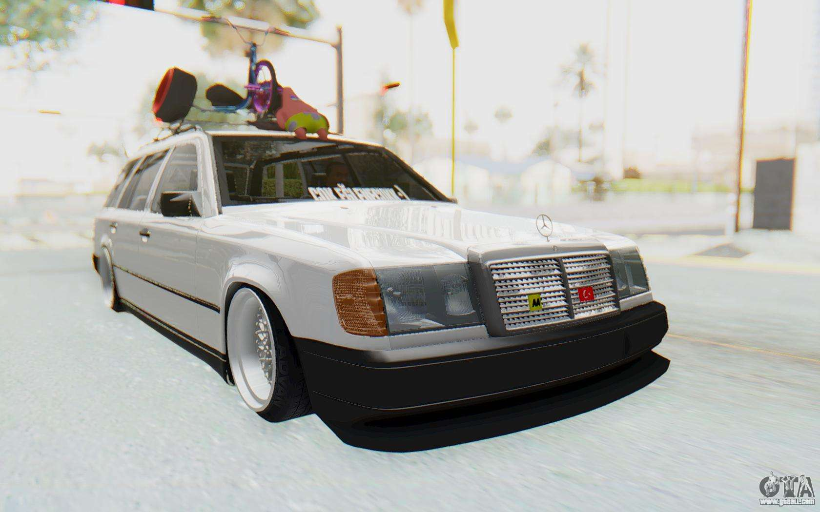 Mercedes benz w124 stance works for gta san andreas for Mercedes benz games