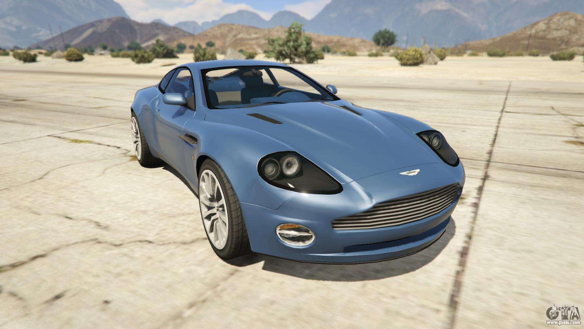 Aston Martin V Vanquish For GTA - 2001 aston martin vanquish